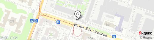 Специальное управление Федеральной противопожарной службы №46 МЧС России, ФГКУ на карте Саратова