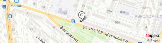 Ромашка на карте Саратова