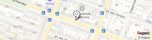 Сарправо на карте Саратова