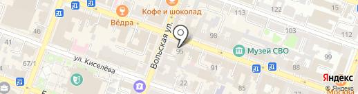 Энергетик-92 на карте Саратова