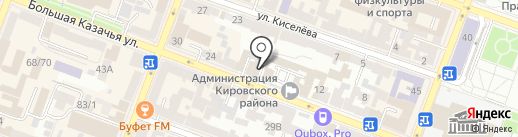 Сфера на карте Саратова
