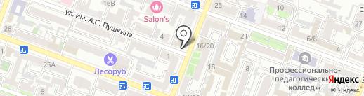 Pay.Travel на карте Саратова