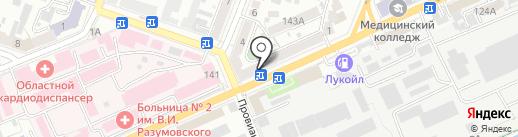 МегаVольт на карте Саратова