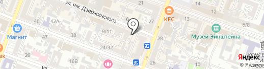 Матвеев и партнеры на карте Саратова