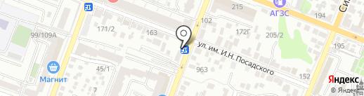 Унистрой на карте Саратова