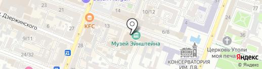 Кашеварня на карте Саратова