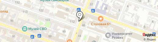 Кухни Малина на карте Саратова