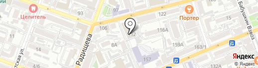 Волгопроектстроймост на карте Саратова