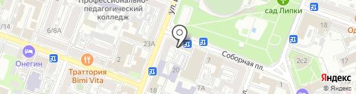 Финода на карте Саратова
