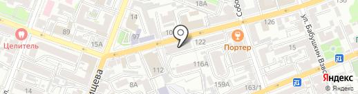 Фабрика печатей на карте Саратова