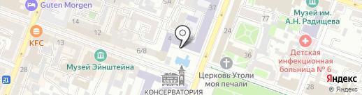 Центр начальной подготовки футболистов Дмитрия Градиленко на карте Саратова