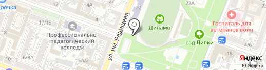 Бурум на карте Саратова