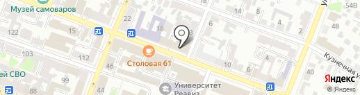 Терминал ВК на карте Саратова