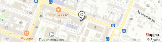 Орион на карте Саратова