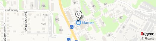 Магнит на карте Приволжского