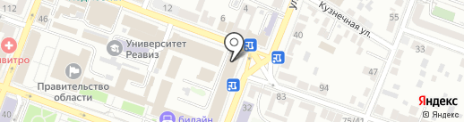 Научно-технический центр комплексной автоматизации на карте Саратова
