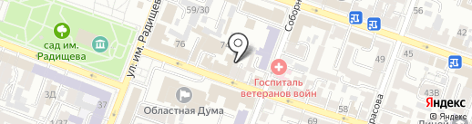 ВАШ ШАНС64 на карте Саратова
