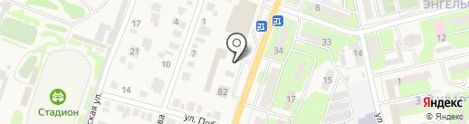 ТИ КОСС на карте Приволжского
