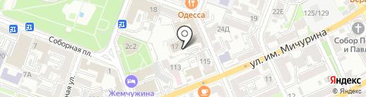Адвокатский кабинет Синельникова М.В. на карте Саратова