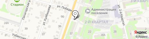 Корс на карте Приволжского