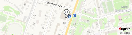 Спартак+ на карте Приволжского