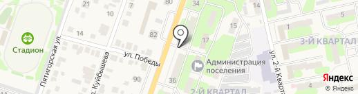 Магазин запчастей для иномарок на карте Приволжского