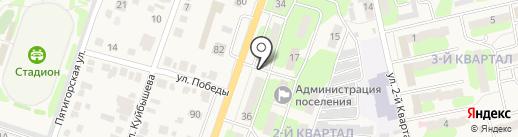 Удача на карте Приволжского