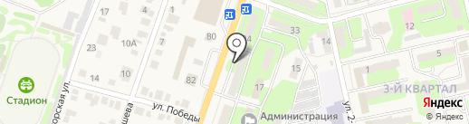 Почтовое отделение №19 на карте Приволжского