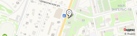 Продуктовый магазин на карте Приволжского