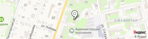 Приволжское, МУП на карте Приволжского