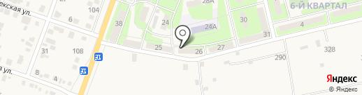 МаКо на карте Приволжского