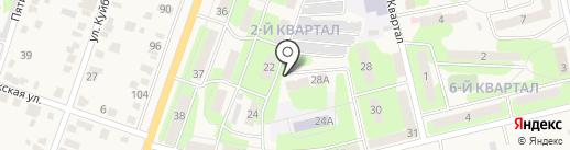 Нотариус Зуева М.В. на карте Приволжского