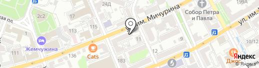 НОСТЕ на карте Саратова