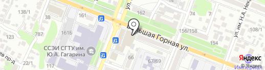 Русский АвтоМотоКлуб на карте Саратова