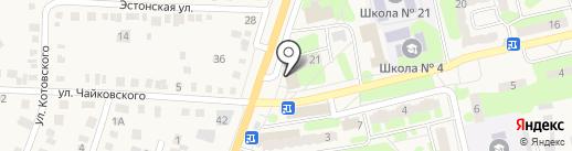 Газовик-С на карте Приволжского