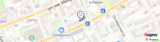 РусОрто на карте Саратова