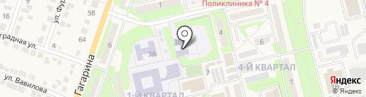 Средняя общеобразовательная школа №4 на карте Приволжского