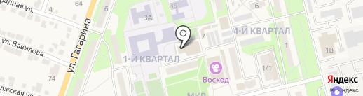 Детско-юношеская спортивная школа на карте Приволжского