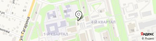 Приволжский на карте Приволжского