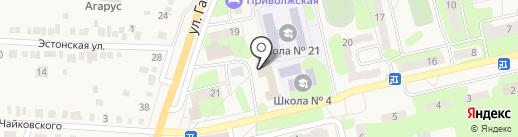 Сигма на карте Приволжского