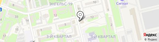 Интэк-Маркет на карте Приволжского