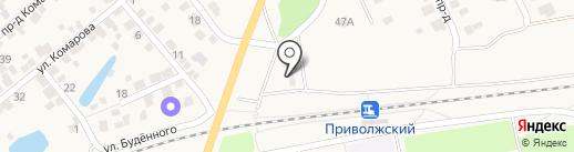 Народный на карте Приволжского