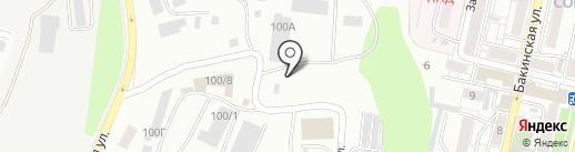 Гальванотехника на карте Саратова