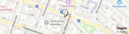 Управление ГО и ЧС на карте Саратова