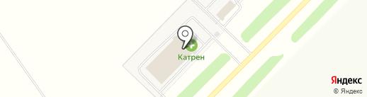Катрен на карте Дубков