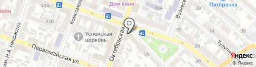 Кабинет психолога Валлиулиной С.В. на карте Саратова