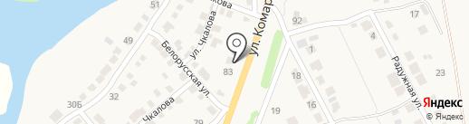 Добрый гость, продуктовый магазин на карте Приволжского
