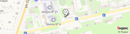 Стелла на карте Приволжского