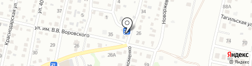 Близнецы на карте Саратова