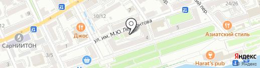 Волга Групп на карте Саратова
